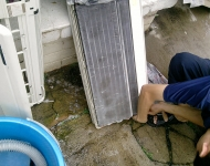 aircon leaking maintanance